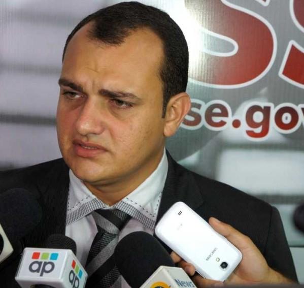 Segundo o delegado Eurico Nascimento, o acusado estava sendo investigado no município de Boquim. (Foto: SSP/SE)