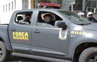 Força Nacional de Segurança Pública inicia trabalho em Aracaju em parceria com a Polícia Militar