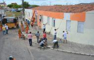 Prefeitura de Nossa Senhora do Socorro realiza mutirão de limpeza na Creche Irmã Dulce