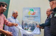 Vino e Jackson Barreto inauguram o Centro Integrado em Segurança Pública de Rosário do Catete