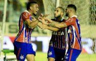 Bahia goleia o Sergipe em Aracaju e encaminha vaga às semis da Copa do Nordeste