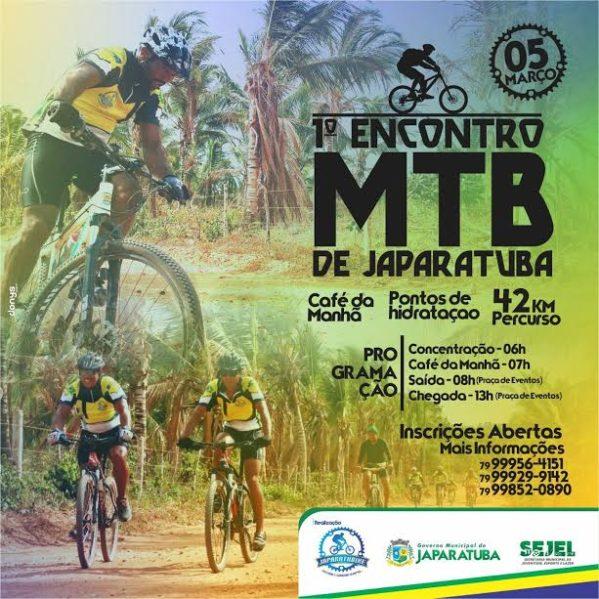 Município de Japaratuba recebe encontro de ciclistas