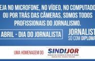 Parabéns, jornalistas pelo seu dia!