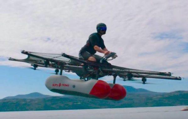 Fundador do Google promete veículos voadores (foto: divulgação/Google)