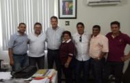 Ex-prefeita de Itaporanga e vereadores solicitam ao DER a recuperação das rodovias do município