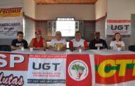 União Geral dos Trabalhadores em Sergipe mobiliza sindicatos para greve geral