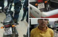 Preso suspeito de tentativa de homicídio contra policial militar