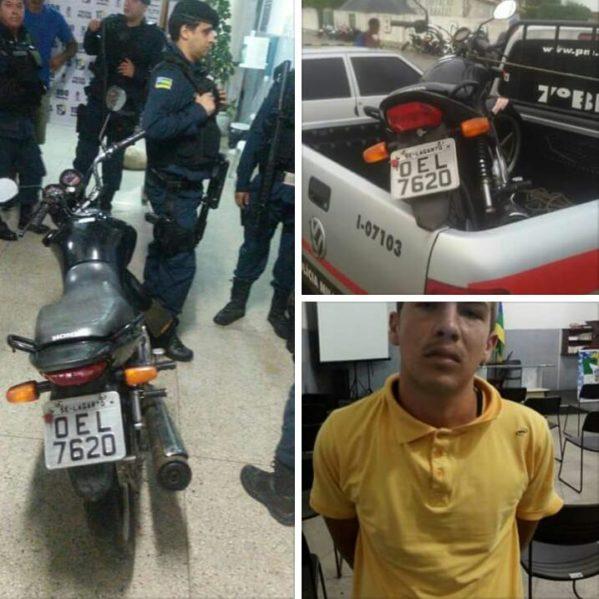 Suspeito de de tentativa de homicídio contra policial militar