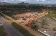 80 operários e 35 máquinas trabalham na rodovia que liga Itabaiana a São Cristóvão