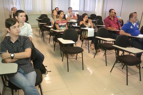 Servidores de Prefeituras são capacitados no TCE. (Foto: ascom/TCE)