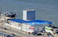 Obra do Terminal Pesqueiro está 75% concluída