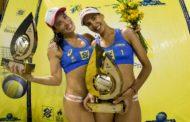 Duda/Ágatha bate Maria Elisa/Carol e leva título do Superpraia em Niterói