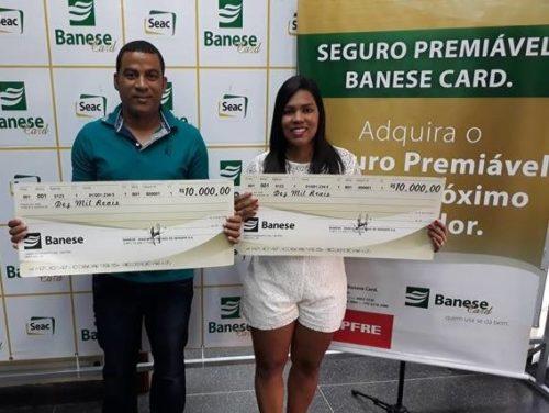 Seguro do Banese Card premia mais dois ganhadores com R$ 10 mil cada