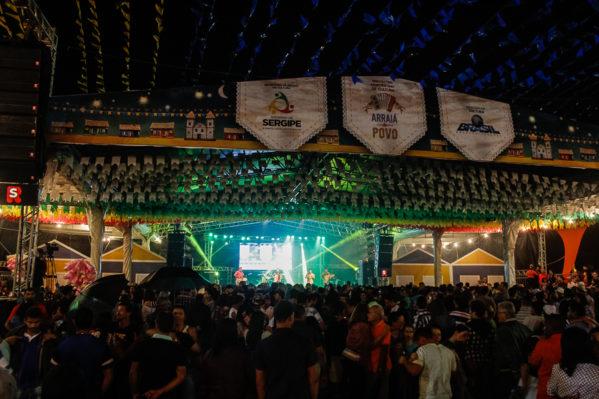 Arraiá do Povo acontecerá entre os dias 21 a 30 de junho, na praça de eventos da Orla de Atalaia / Foto: Arquivo/Secult