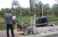 Motorista perde o controle da direção, atropela e mata ciclista em Aracaju