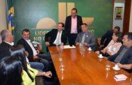 André Moura recebe gestores municipais em Brasília antes da XX Marcha dos Prefeitos