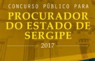 Governo de Sergipe anuncia abertura de concurso público para Procurador do Estado