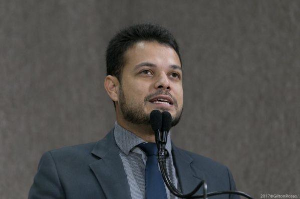 Vereador Anderson de Tuca. Foto: assessoria CMA