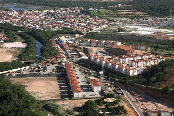 No Bairro Jabotiana, na área do Poxim, o forte crescimento imobiliário preocupa
