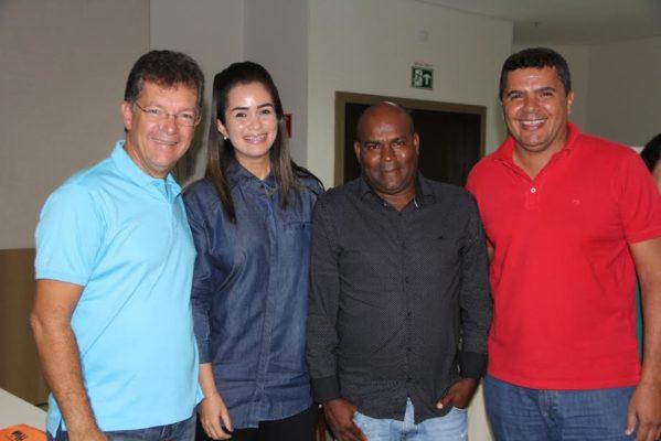 O evento contou com a participação dos vereadores, prefeitos e lideranças do Solidariedade de Sergipe.