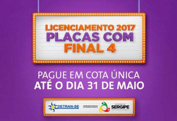 Para solicitar o Licenciamento Anual, o cidadão deve acessar o portal de autoatendimento www.detran.se.gov.br, na opção Serviços de Veículos.