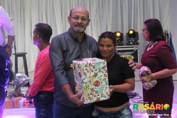 O prefeito Etelvino Barreto (Vino Barreto) também esteve presente às comemorações