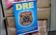 Polícia Federal apreende 375 quilos de maconha e uma pistola em Cristinápolis
