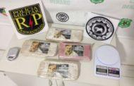 Polícia prende acusado de tráfico de drogas no Conjunto Marcos Freire III