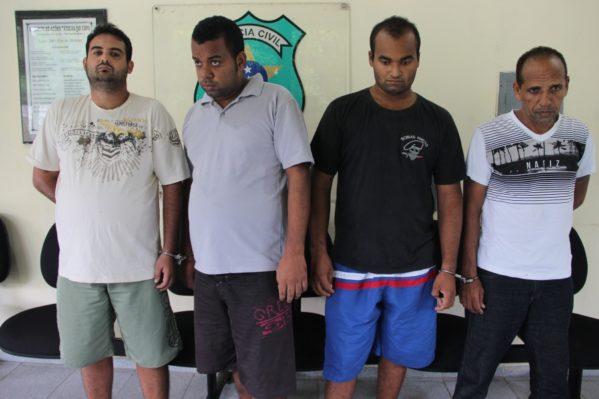 Segundo a polícia, grupo roubava os animais para comercializar a carne em um frigorífico de pequeno porte que pertencia a um dos acusados