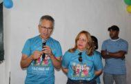 Prefeito abre dia 'D' de vacinação contra a gripe em São Cristóvão