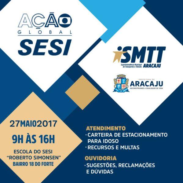 O projeto Ação Global está na 26ª edição e neste fim de semana promove, em 27 cidades brasileiras e no Distrito Federal. Foto: Ascom SMTT