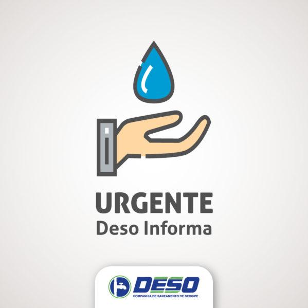 Abastecimento estará comprometido na Barra dos Coqueiros nesta terça-feira, 16