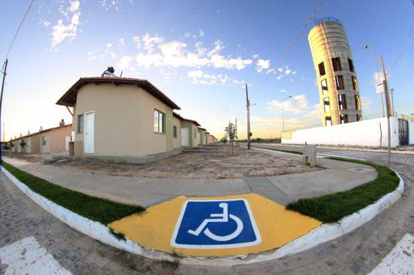 3% das casas são destinados a pessoas com deficiência. (Foto: Victor Ribeiro/ASN)