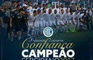 Confiança conquista o Campeonato Sergipano de 2017