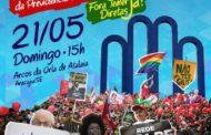 Protesto contra o presidente Temer acontece hoje às 15 horas na Orla da Atalaia