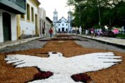 Tradição de Tapetes de Corpus Christi acontece nesta quinta-feira, em São Cristóvão