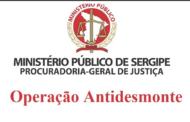 Ministério Público de Sergipe divulga balanço da