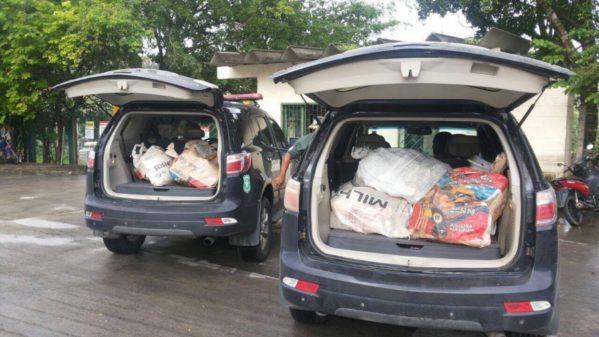 Material foi apreendido em operações realizadas pelas polícias Civil e Militar