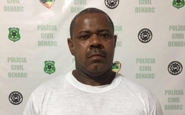 Márlio é um policial da ativa, e foi preso por determinação judicial. (Foto: arquivo/SSP/SE)