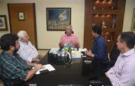 Governador busca agilizar obras da Ceasa de Itabaiana