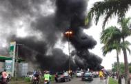 Greve Geral: manifestantes bloqueiam o trânsito em cinco pontos do Estado