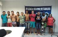 Operação Trezena resulta na prisão de 10 pessoas e apreensão de drogas, em Itabaiana