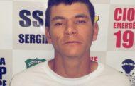 Polícia Civil prende homem que matou companheira com tiro de espingarda no interior de Sergipe