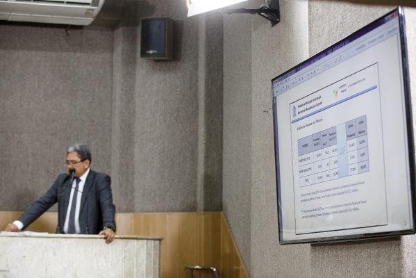 Prefeitura de Aracaju apresenta quadrimestre na Câmara de Vereadores e aponta redução de gastos