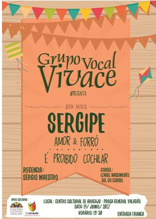 Centro Cultural de Aracaju recebe o espetáculo 'Sergipe Amor & Forró – É proibido Cochilar'