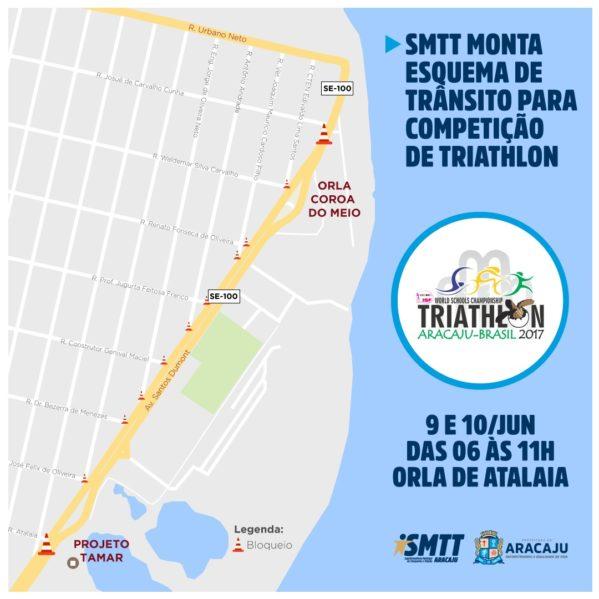 SMTT anuncia mudanças no trânsito da Atalaia nessa sexta e sábado