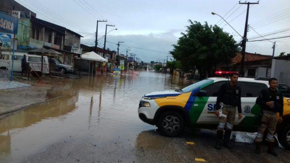 SMTT alerta para os pontos críticos de alagamento em Aracaju