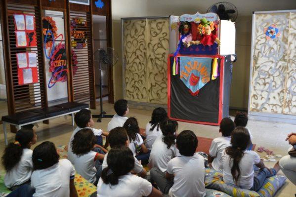 Biblioteca Infantil oferece oficinas para comunidade