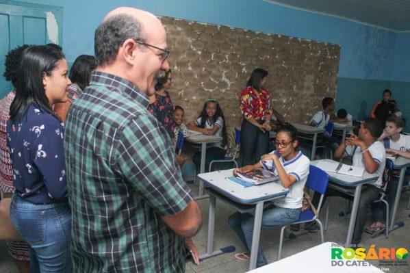 Prefeitura de Rosário do Catete inova e inicia instalação de climatizadores de ar nas escolas públicas