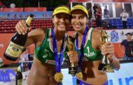 Duda e Ana Patrícia são campeãs mundiais sub-21 de vôlei de praia na China